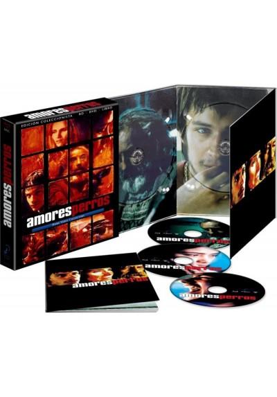 Amores Perros (Blu-Ray + Dvd + Dvd Extras + Libreto)