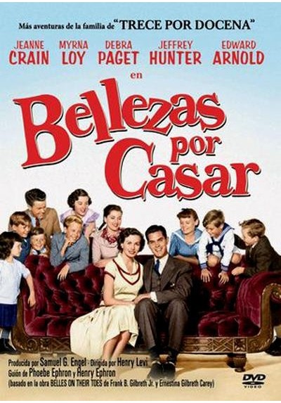 Bellezas por casar (Belles on Their Toes: The Further Adventures of the Gilbreth Family)