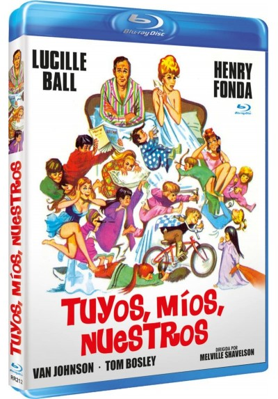 Tuyos, Mios, Nuestros (Yours, Mine and Ours) (Bd-R) (Blu-ray)