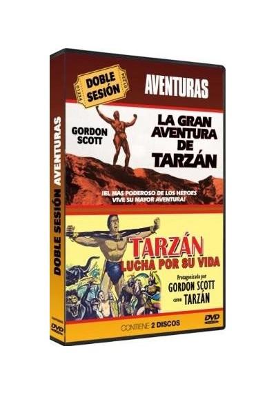Doble Sesion de Aventuras - La Gran Aventura De Tarzán / Tarzán Lucha Por Su Vida (Dvd-R)