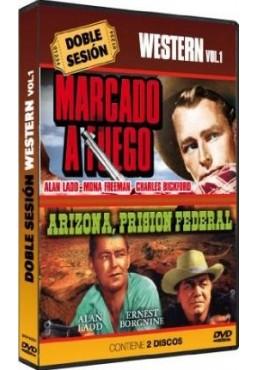 Doble Sesion de Wester Vol.1 - Marcado A Fuego / Arizona Prision Federal (Dvd-R)