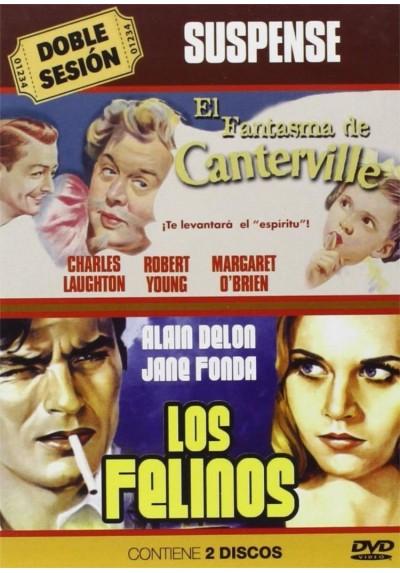 Doble Sesion Suspense: El Fantasma De Canterville / Los Felinos