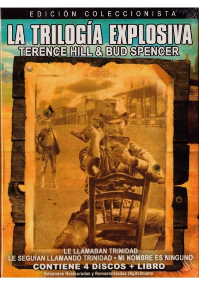 La Trilogía Explosiva : Terence Hill & Bud Spencer