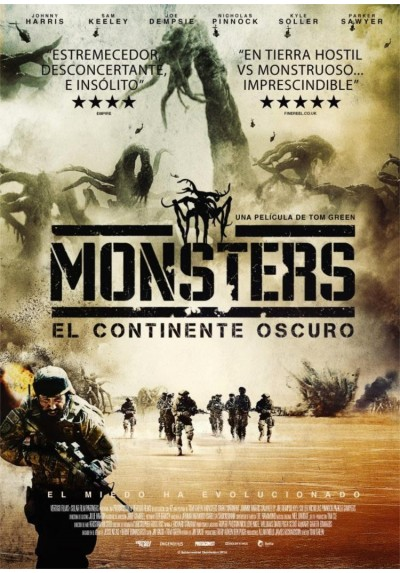 Monsters, Continente Oscuro (Monsters: Dark Continent)