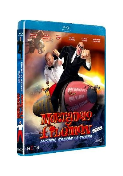 Mortadelo Y Filemón - Misión : Salvar La Tierra (Blu-Ray)