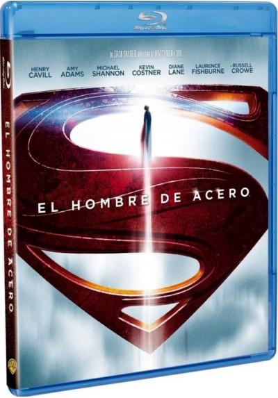 El Hombre De Acero (Blu-Ray) (Man Of Steel)