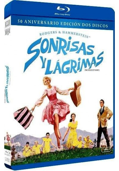 Sonrisas Y Lagrimas (Ed. 50 Aniversario) (Blu-Ray) (The Sound Of Music)