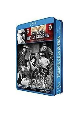 Pack Rosellini : Trilogia De La Guerra (Blu-Ray) (Ed. Metalica)