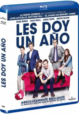 Les Doy Un Año (Blu-Ray) (I Give It A Year)