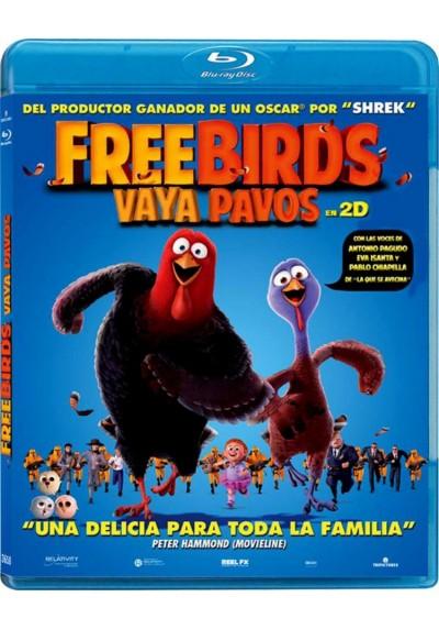 Free Birds (Blu-Ray) (Vaya Pavos)