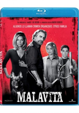 Malavita (Blu-Ray) (The Family)