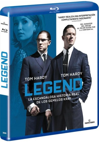 Legend (2015) (Blu-Ray)