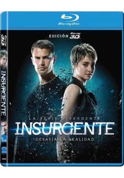 La Serie Divergente : Insurgente (Blu-Ray 3d) (Insurgent)