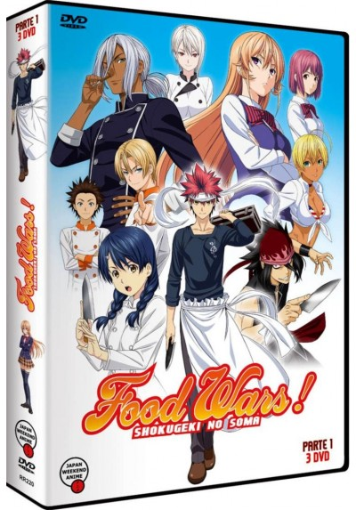 Food Wars - 1ª Temporada - 1ª Parte (Shokugeki No Soma)
