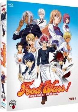 Food Wars - 1ª Temporada - 1ª Parte (Shokugeki No Soma) (Blu-ray)