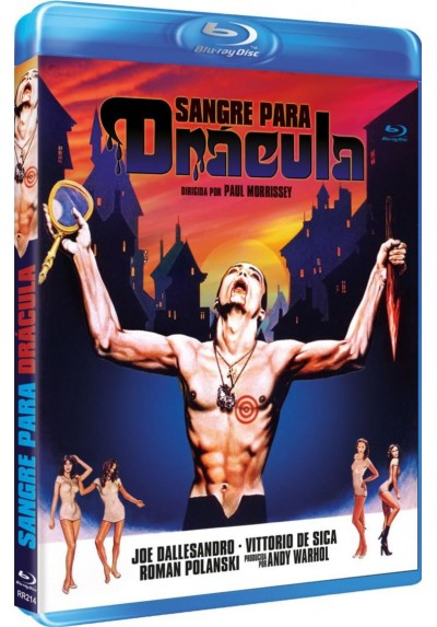 Sangre Para Drácula (Blu-Ray) (Bd-R) (Blood For Dracula)