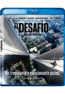 El Desafío (2015) (Blu-Ray) (The Walk)