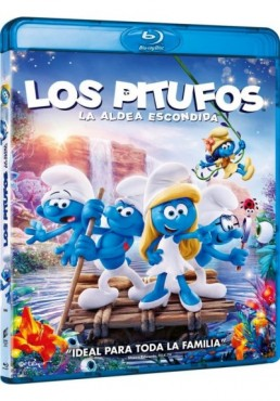 Los Pitufos : La Aldea Escondida (Blu-Ray) (Smurfs: The Lost Village)