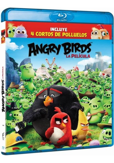Angry Birds - La Película (Blu-Ray) (The Angry Birds Movie)
