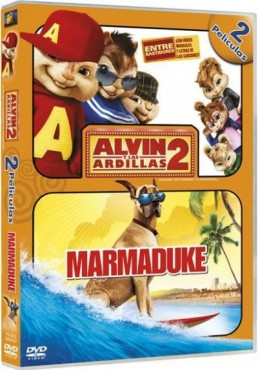 Pack Alvin Y Las Ardillas 2 / Marmaduke