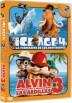 Pack Ice Age 4 / Alvin Y Las Ardillas 3