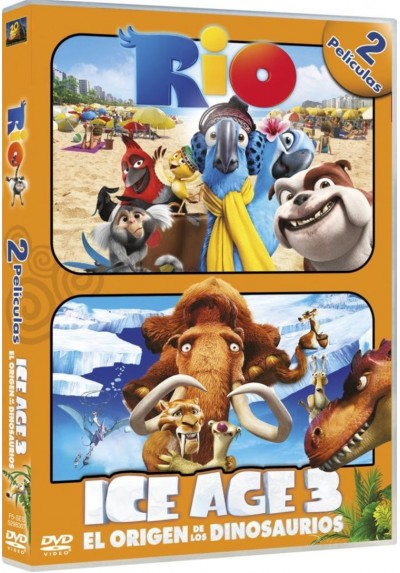 Pack Rio / Ice Age 3 : El Origen De Los Dinosaurios