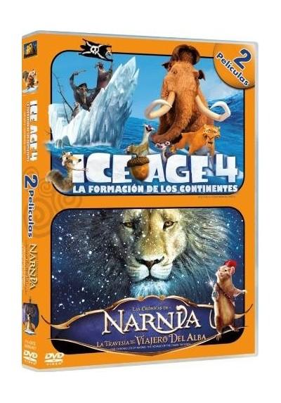 Pack Ice Age 4 / Las Crónicas De Narnia : La Travesía Del Viajero Del Alba