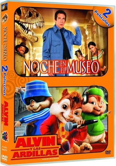 Pack Noche En El Museo / Alvin Y Las Ardillas