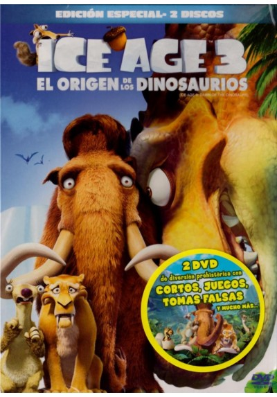 Ice Age 3: El Origen De Los Dinosaurios (Ed. Especial) (Ice Age: Dawn Of The Dinosaurs)