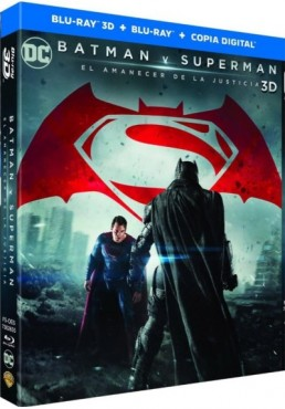 Batman V Superman : El Amanecer De La Justicia (Blu-Ray 3d + Blu-Ray + Copia Digital) (Batman V. Superman: Dawn Of Justice)