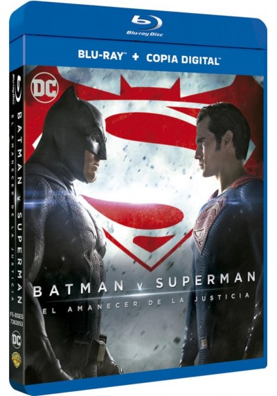 Batman V Superman : El Amanecer De La Justicia (Blu-Ray + Copia Digital) (Batman V Superman: Dawn Of Justice)