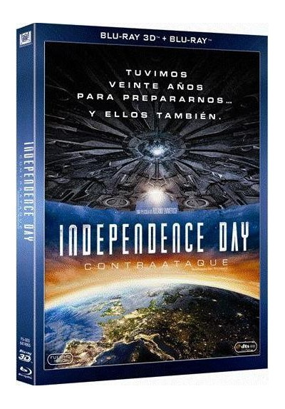 Independence Day : Contraataque (Blu-Ray 3d + Blu-Ray) (Independence Day: Resurgence)
