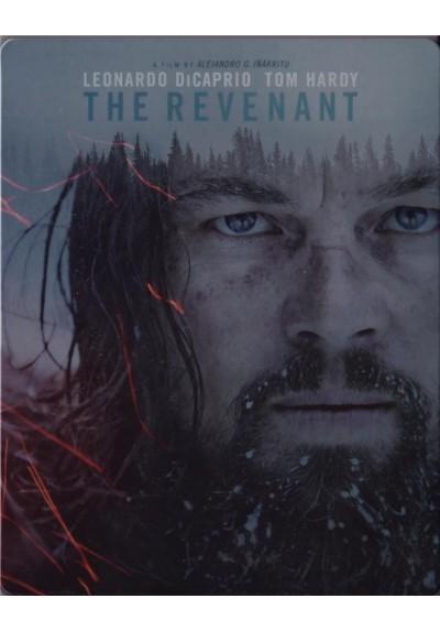El Renacido (The Revenant) (Blu-Ray) (Est. Metálico)