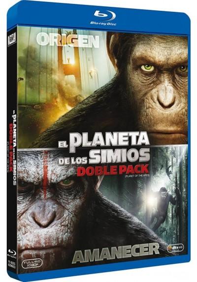 Pack El Origen Del Planeta De Los Simios / El Amanecer Del Planeta De Los Simios (Blu-Ray)