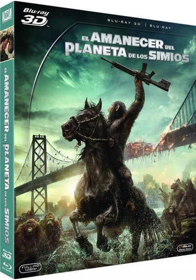 El Amanecer Del Planeta De Los Simios (Blu-Ray 3d + Blu-Ray) (Dawn Of The Planet Of The Apes)