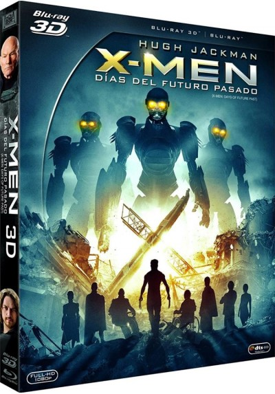 X-Men : Días Del Futuro Pasado (Blu-Ray 3d + Blu-Ray) (X-Men: Days Of Future Past)