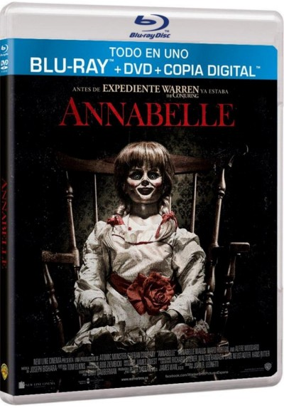 Annabelle (Blu-Ray + Dvd + Copia Digital)