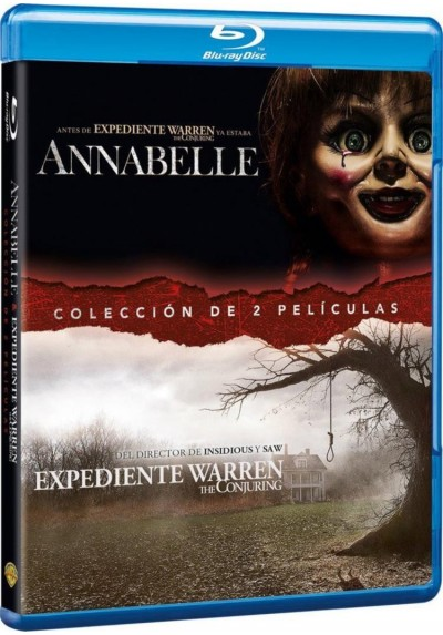 Pack Annabelle / Expediente Warren (Blu-Ray + Copia Digital)