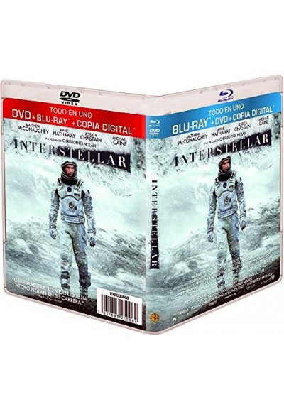 Interstellar (Blu-Ray + Dvd + Copia Digital)