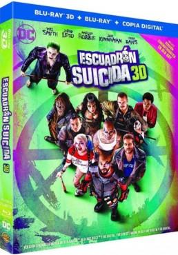 Escuadrón Suicida (Blu-Ray 3d + Blu-Ray + Copia Digital) (Suicide Squad)