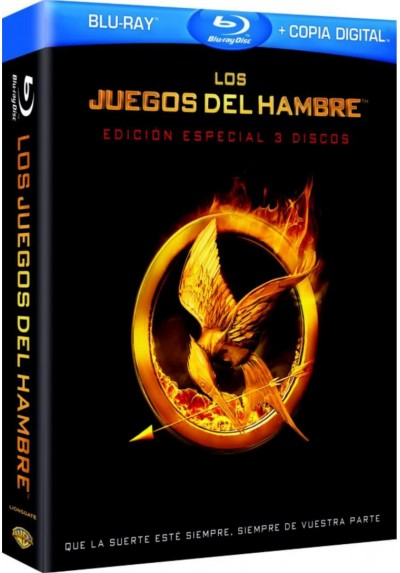 Los Juegos Del Hambre (Blu-Ray + Copia Digital) (The Hunger Games)