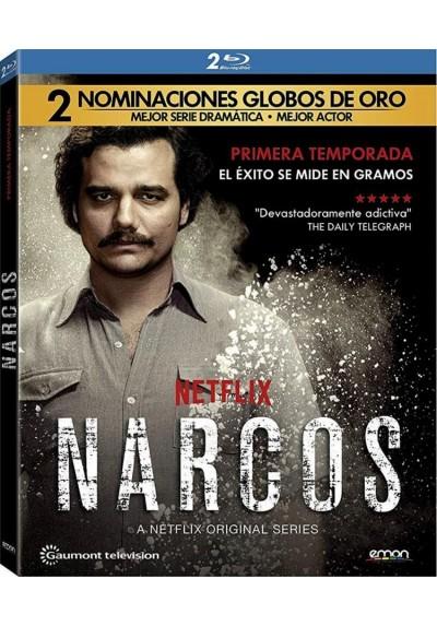 Narcos - 1ª Temporada (Blu-Ray)