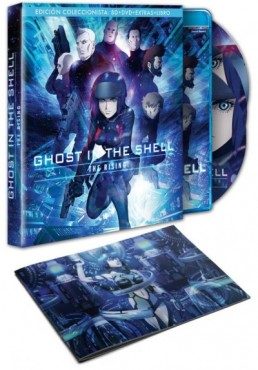 Ghost In The Shell : The Rising (Blu-Ray + Dvd + Libro)