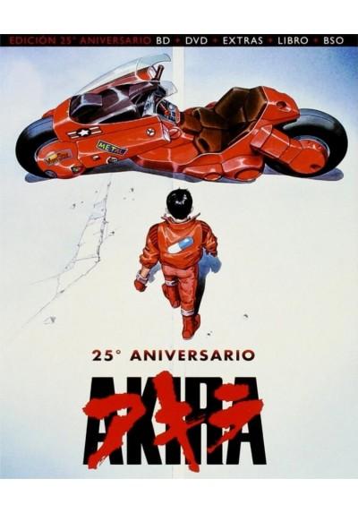 Akira (Blu-Ray + Dvd + Extras + Libro + B.S.O.) (Ed. Coleccionista 25º Aniversario)