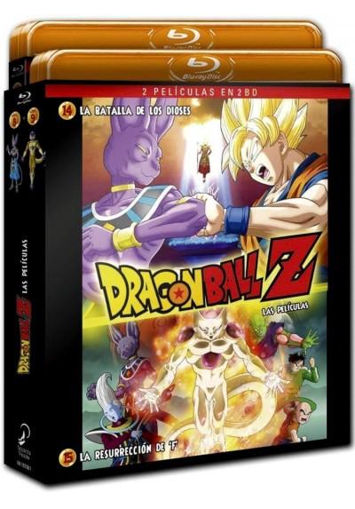 Pack Dragon Ball Z : La Batalla De Los Dioses / La Resurrección De F. (Blu-Ray)