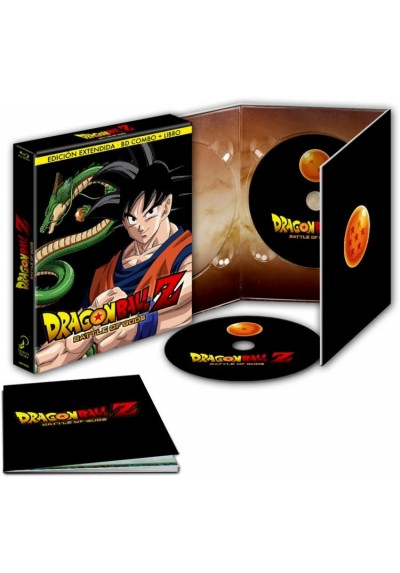 Dragon Ball Z : Battle Of Gods (Blu-Ray + Dvd + Libro) (Ed. Extendida) (Doragon Boru Z : Kami To Kami)