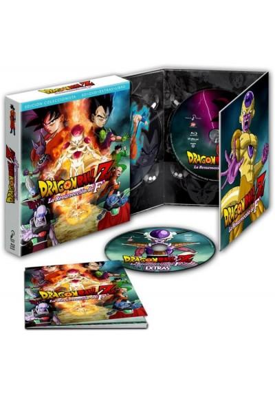 Dragon Ball Z: La Resurrección De F. (Blu-Ray + Dvd + Extras) (Ed. Coleccionista Limitada) (Dragon Ball Z: Doragon Bôru Z - Fukk