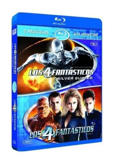 Pack Los 4 Fantásticos Y Silver Surfer / Los 4 Fantásticos (Blu-Ray)