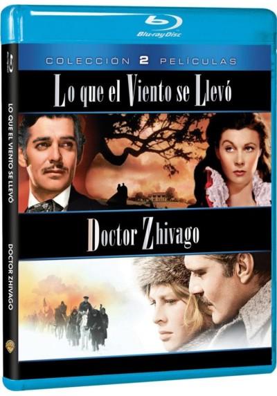 Pack Lo Que El Viento Se Llevó / Doctor Zhivago (Blu-Ray)