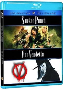 Pack Sucker Punch / V De Vendetta (Blu-Ray)